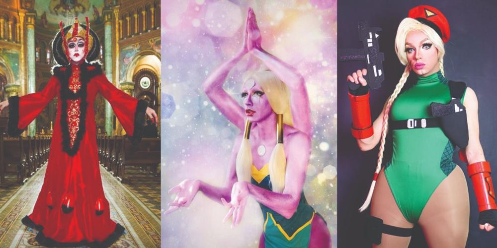 União Geek reúne drags Amanda Sparks, Duda Dello Russo e Slovakia em evento