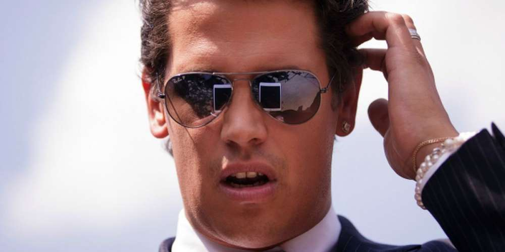 Milo Yiannopoulos Praises Bombs Sent to Democrats, Instagram Wouldn't Remove the Post
