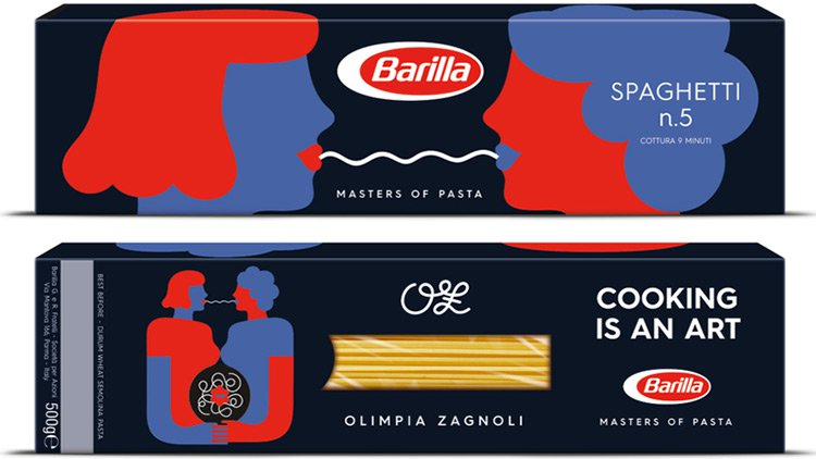 rainbow wave barilla