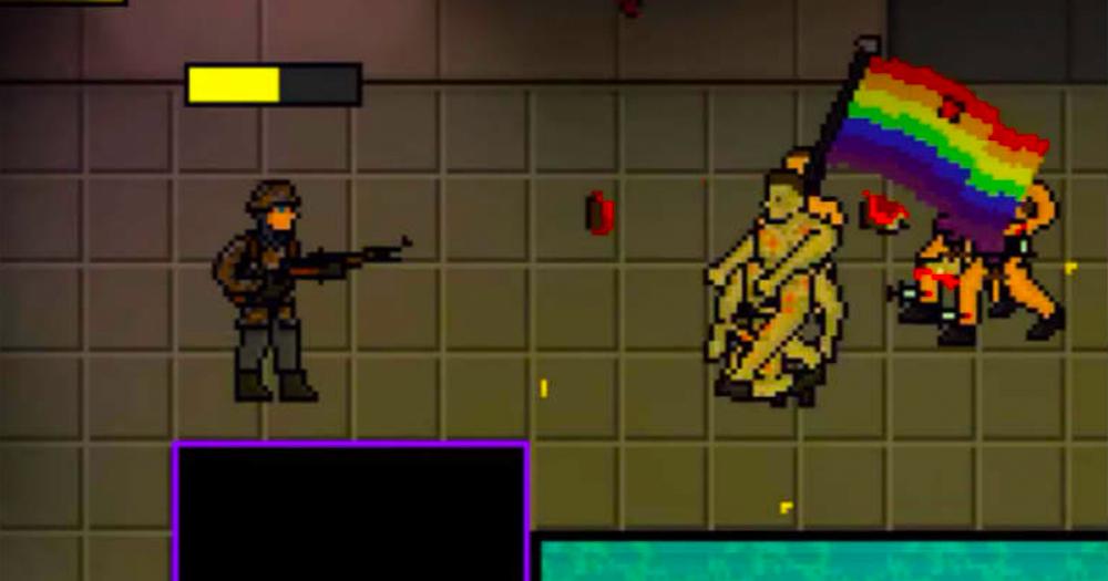 lgbtq migrants video game