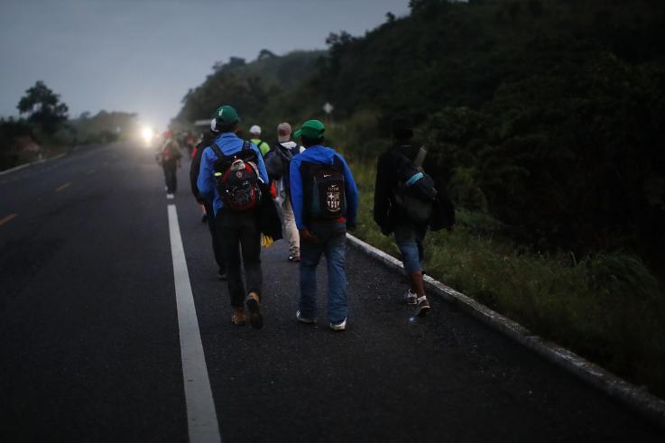 lgbtq migrants caravan