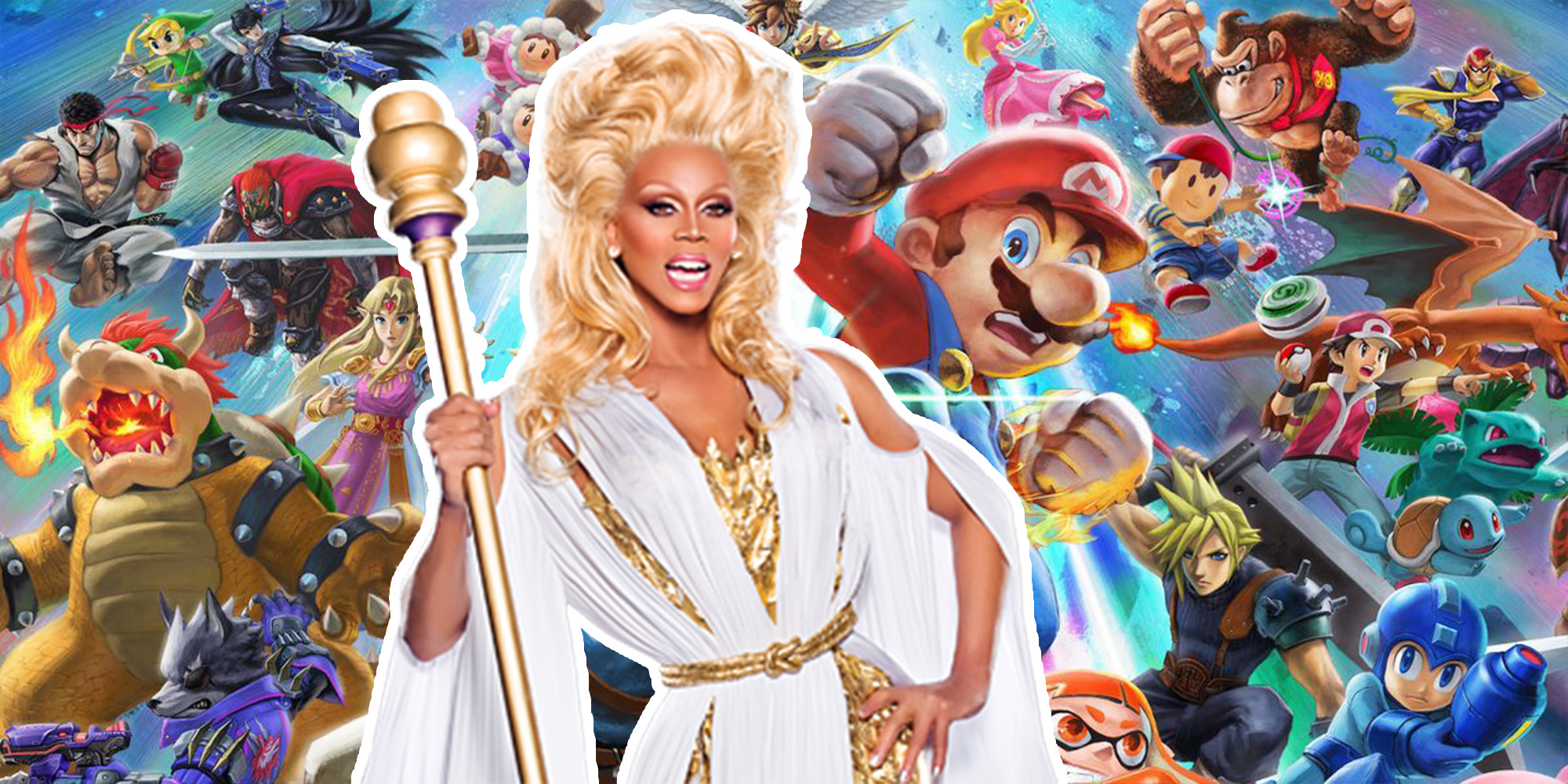 Nintendo's Trailer for 'Super Smash Bros. Ultimate' Is Better With This RuPaul Soundtrack