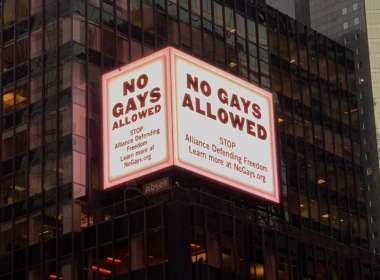 no gays allowed ADF teaser