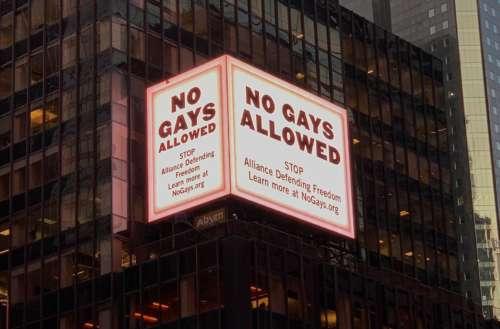 no gays allowed ADF teaser