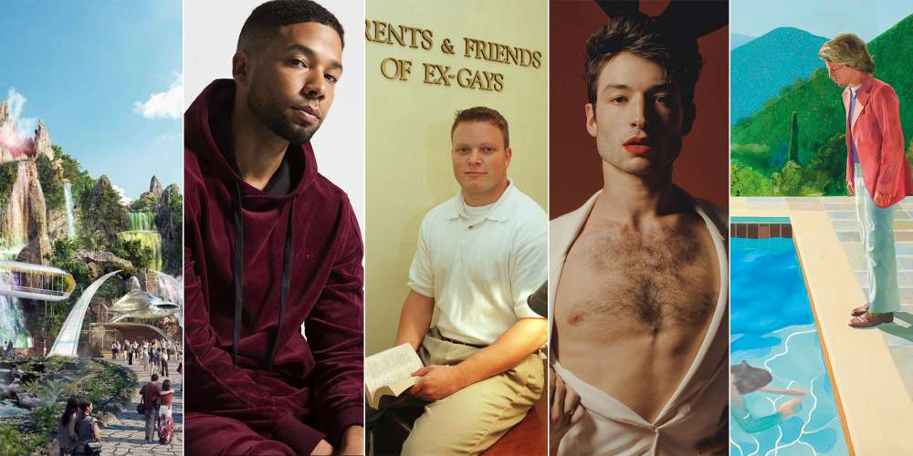 The Daily Sting, Friday: Ezra Miller on Being Polyamorous, David Hockney Breaks Art Auction Record