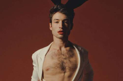 ezra miller photo shoot teaser