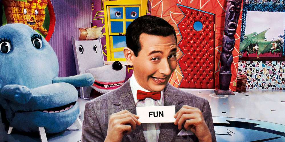 pee-wee's playhouse saturday morning TV teaser