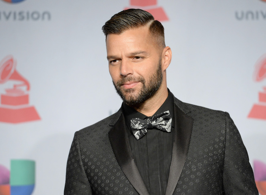 bearded celebrities ricky martin
