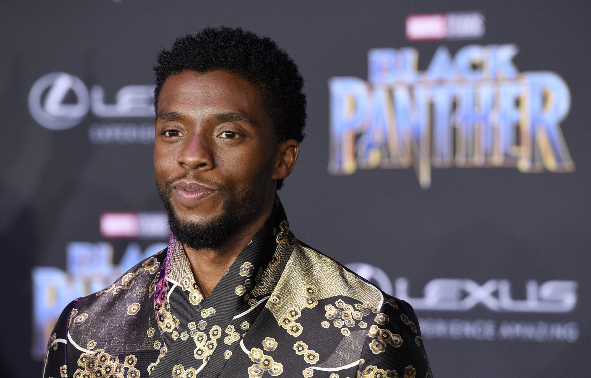 bearded celebrities chadwick boseman