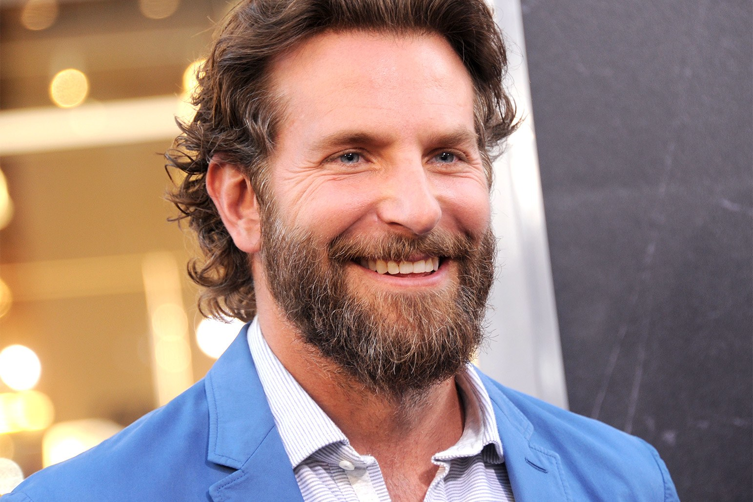 bearded celebrities bradley cooper