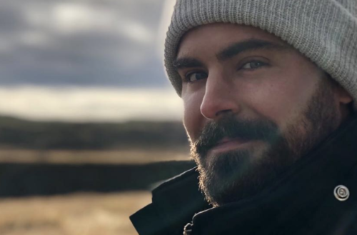 bearded celebrities teaser zac efron