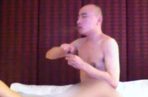 Monge budista filmado