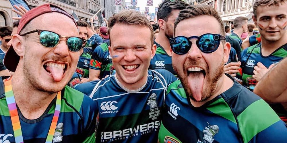 Kings Cross Steelers, the World's First Gay Rugby Team, Sound Off on Teamwork and Brotherhood
