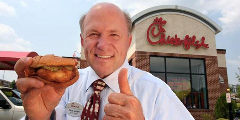 chick-fil-a dan cathy