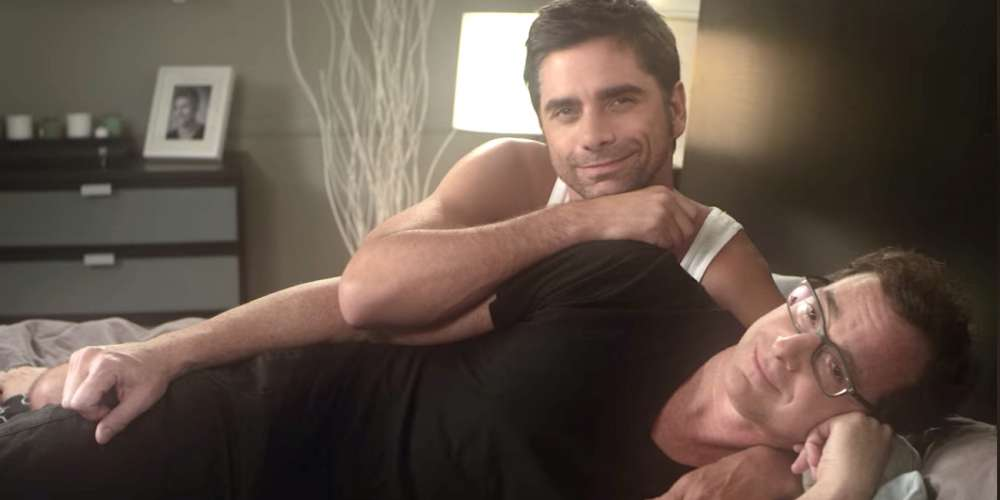 Keep the Love Alive With These Cuddle Tips From TV Hunk John Stamos (Video)