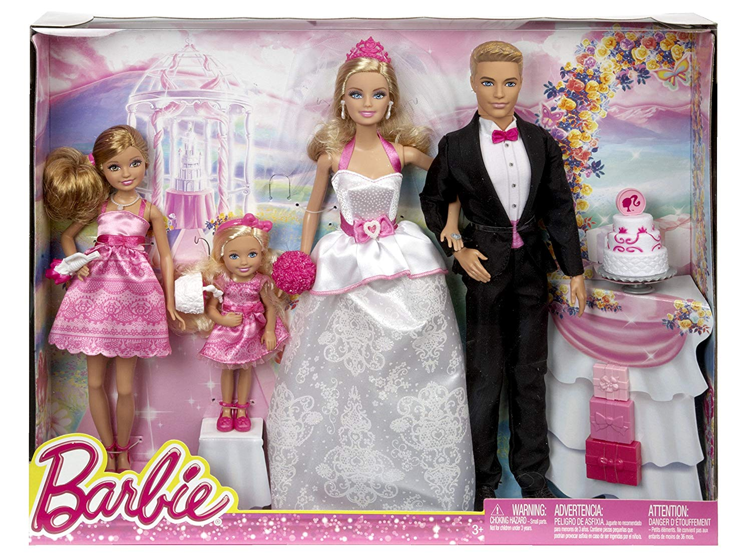 same-sex barbie wedding set straight