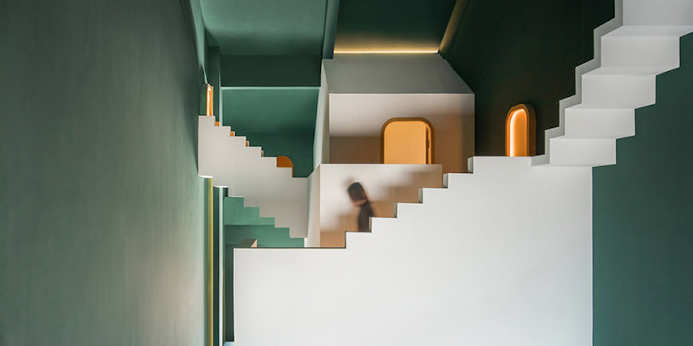 In 2019 We Want to Stay in One of These M.C. Escher-Inspired Hotel Rooms