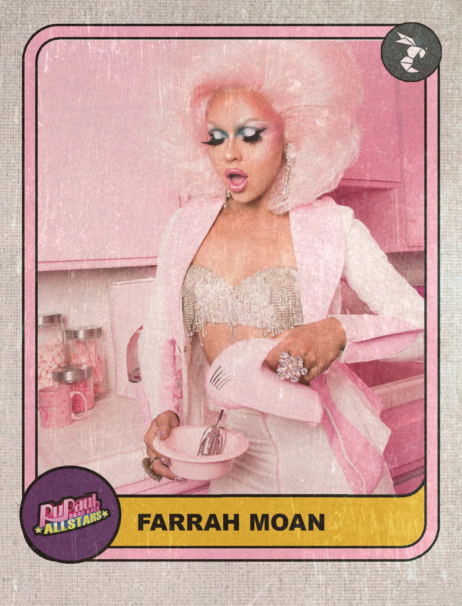 farrah moan all stars hornet