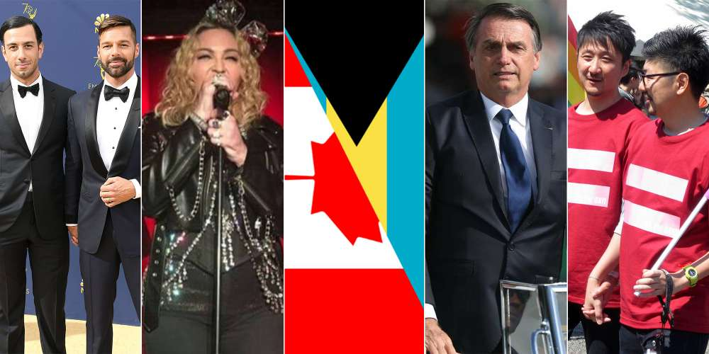 The Daily Sting, Wednesday: Madonna's NYE Stonewall Gig, Brazil's Bolsonaro Takes Office