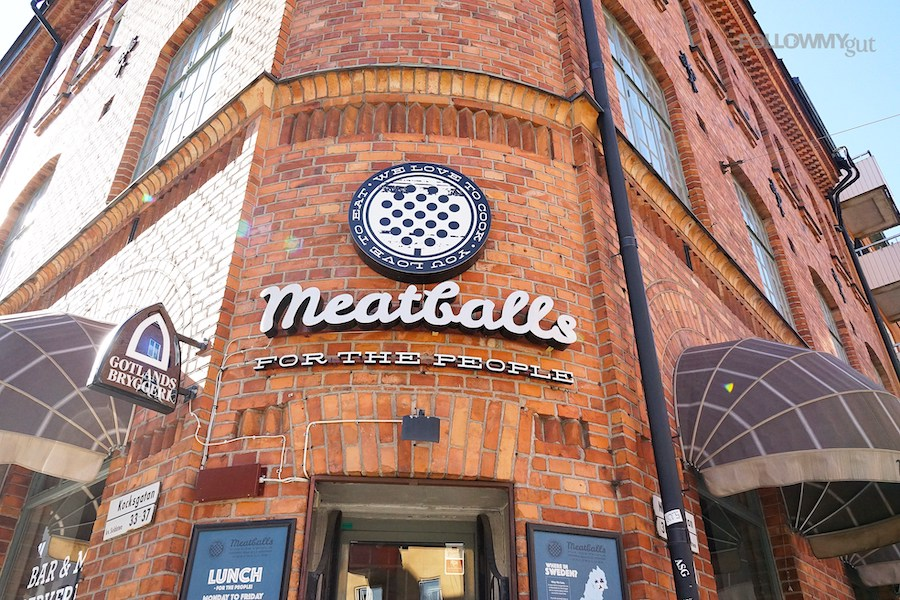 stockholm meatballs
