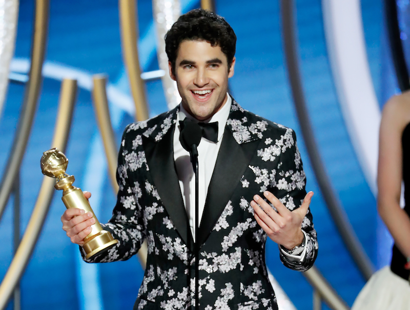2019 golden globes darren criss