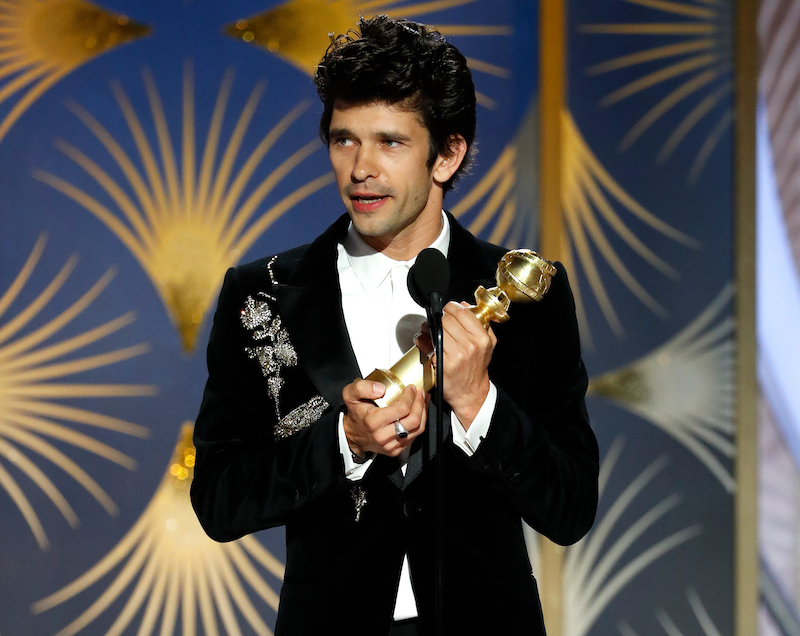 2019 golden globes ben whishaw