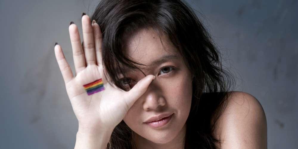 A-Lin:「現在還是有人認為同志之愛是錯的,但我覺得只要有愛,什麼都是對的!」
