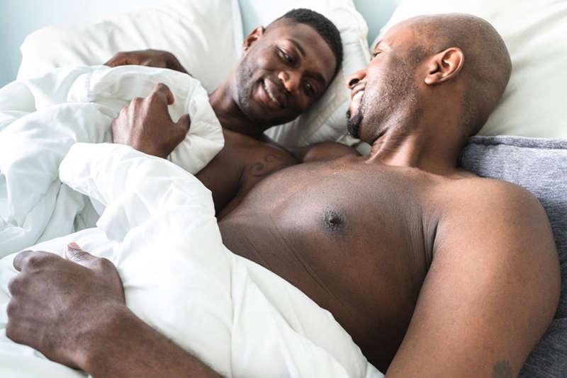 gay men anal sex