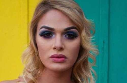 Atriz trans Glamour Garcia