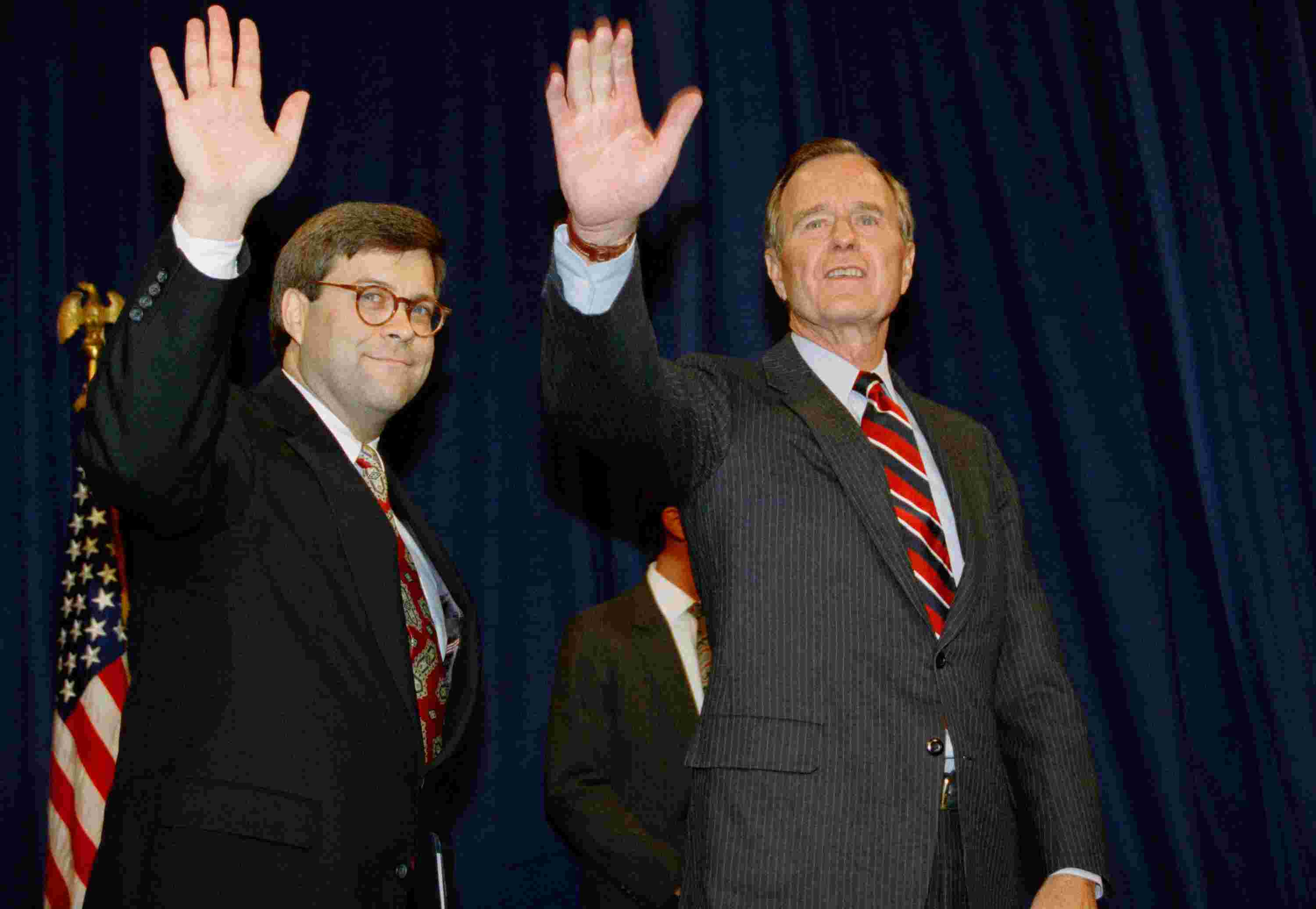 william barr bush