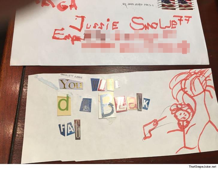 jussie smollett letter