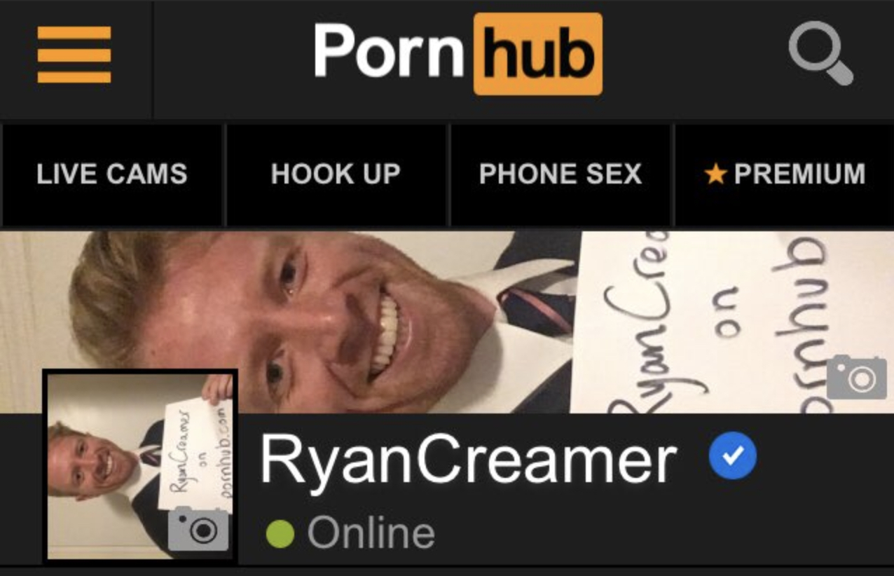 ryan creamer pornhub channel 1
