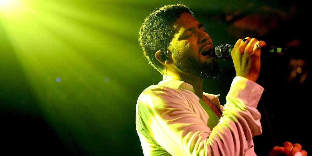 Jussie Smollett Returns to the Stage in L.A.: 'I Couldn't Let Those Motherf-ckers Win'