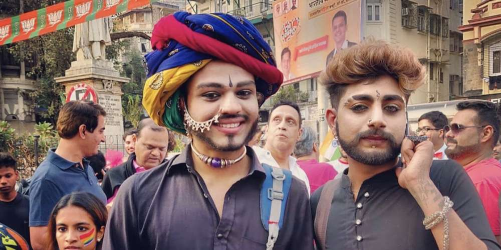 This Year's Mumbai Pride Saw Its Biggest Turnout Yet, and With No Danger of Arrest
