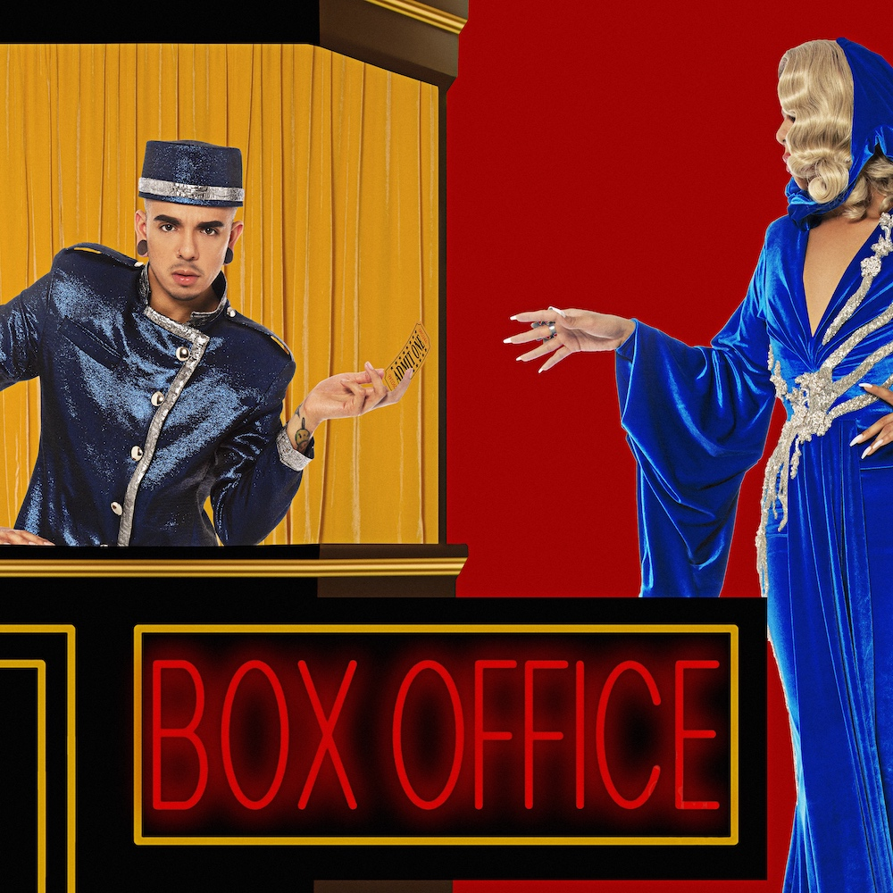 aja album box office cover