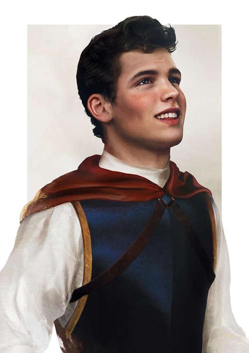disney guys prince snow white