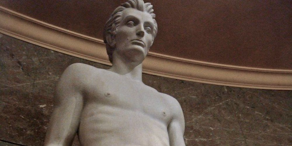 Twitter Has Hilarious Things to Say About This Sexy Abraham Lincoln Statue Found in L.A.