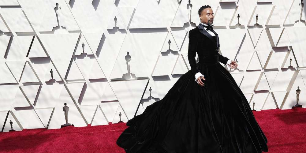 Billy Porter's Stunning Oscars Tuxedo Gown Was a Tribute to This Ball Culture Legend