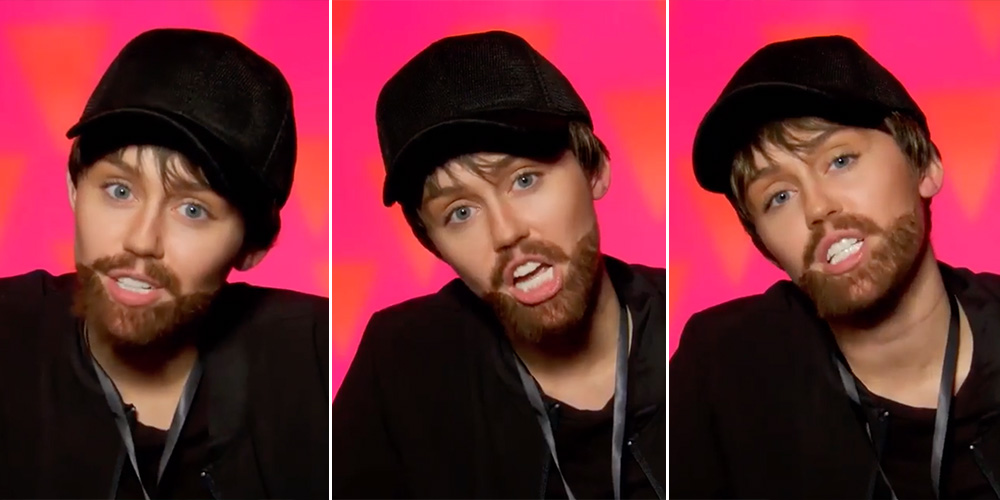 Miley Cyrus Is On an Undercover Mission in the 'Drag Race' Season 11 Premiere