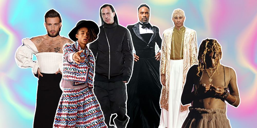 Get Ready, Guys: 2019 Is Apparently the Year of Men in Skirts
