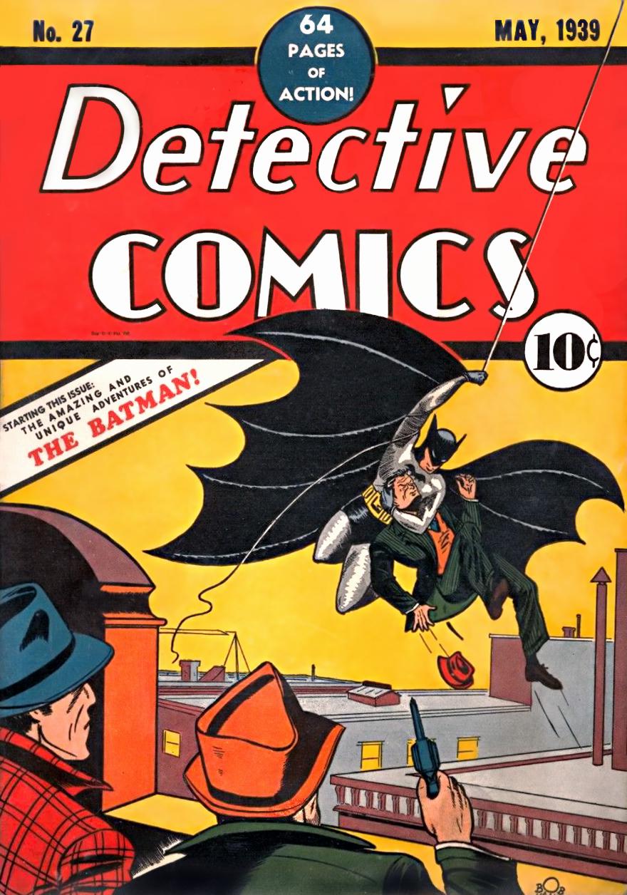 batman films first comic