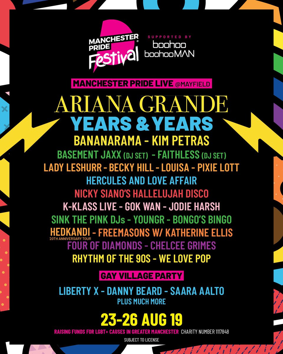 ariana grande exploiting lgbtq people manchester lineup