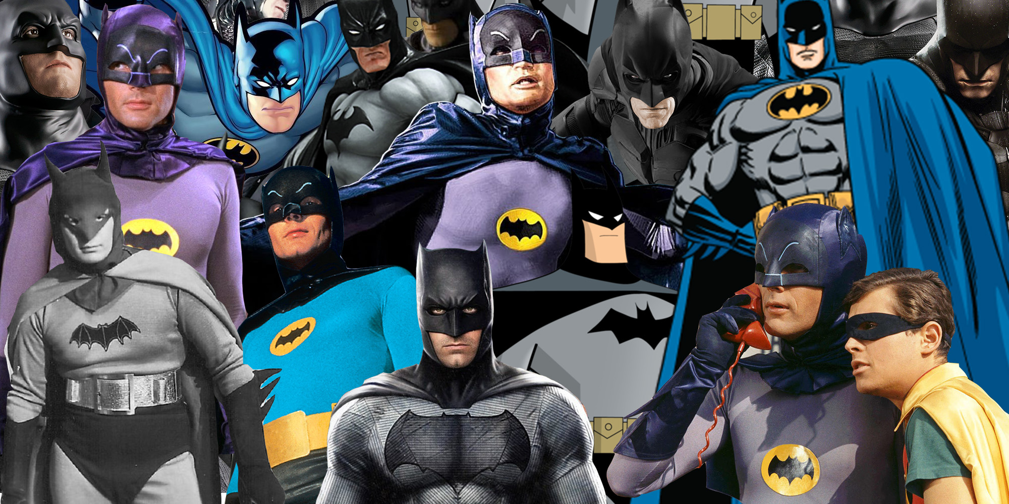 76 Years of Batman On-Screen: How the Caped Crusader Has Evolved Through the Years