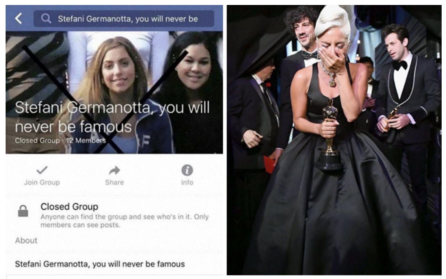 lady gaga bullying facebook group