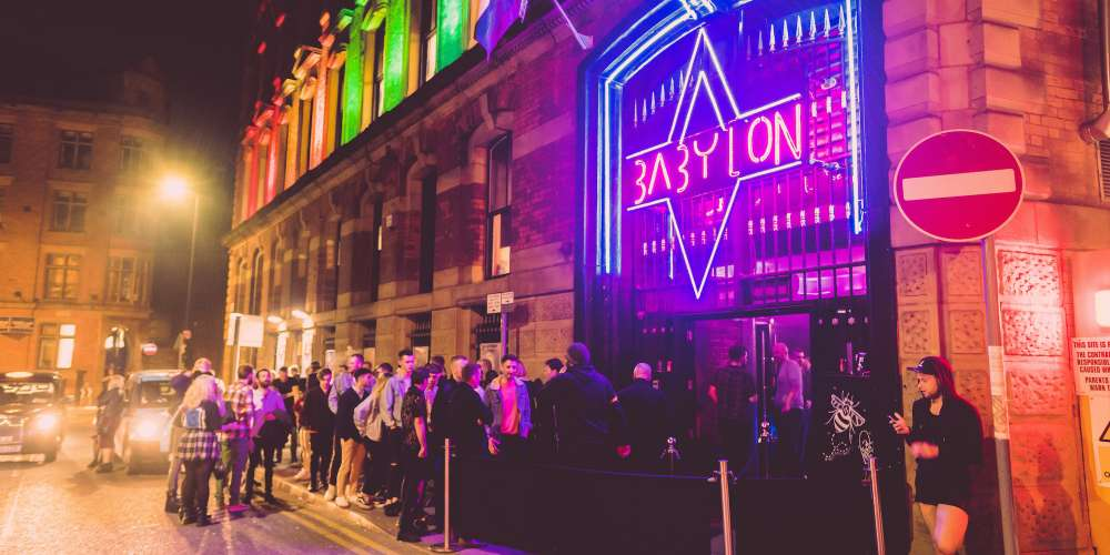 Manchester Club Celebrated 20 Years of 'Queer as Folk' With a 'One Night in Babylon' Party (Photos)