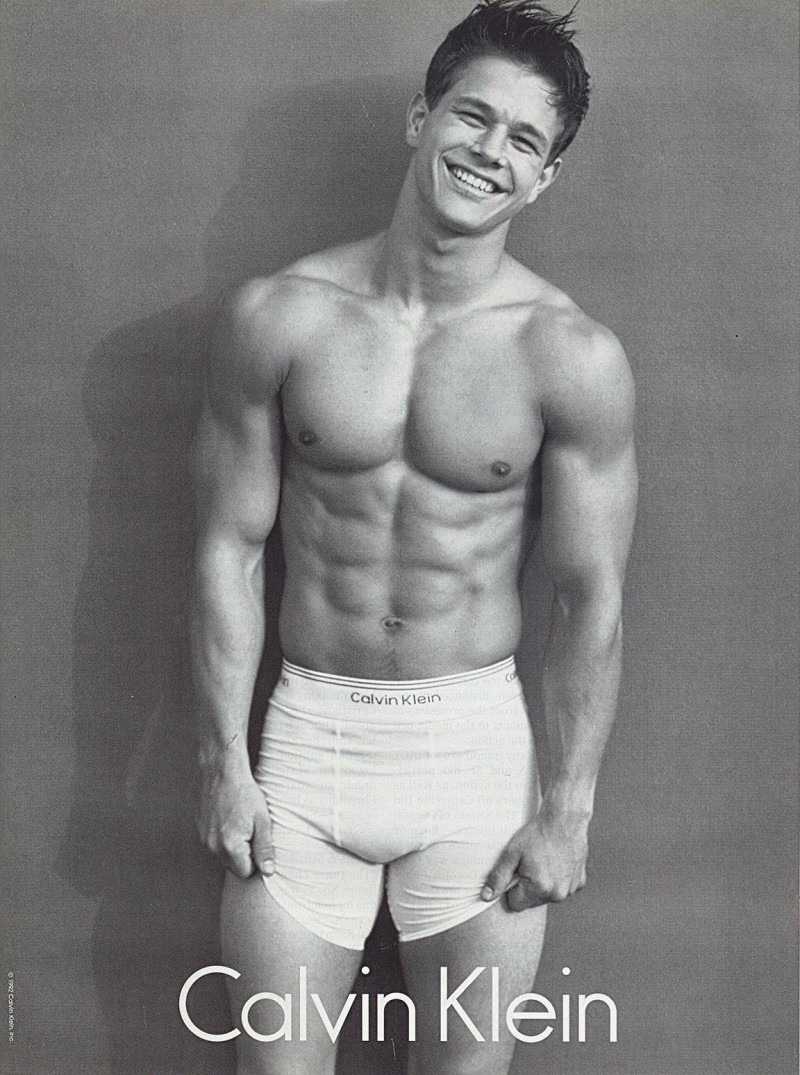 celebrity calvin klein underwear ads mark wahlberg