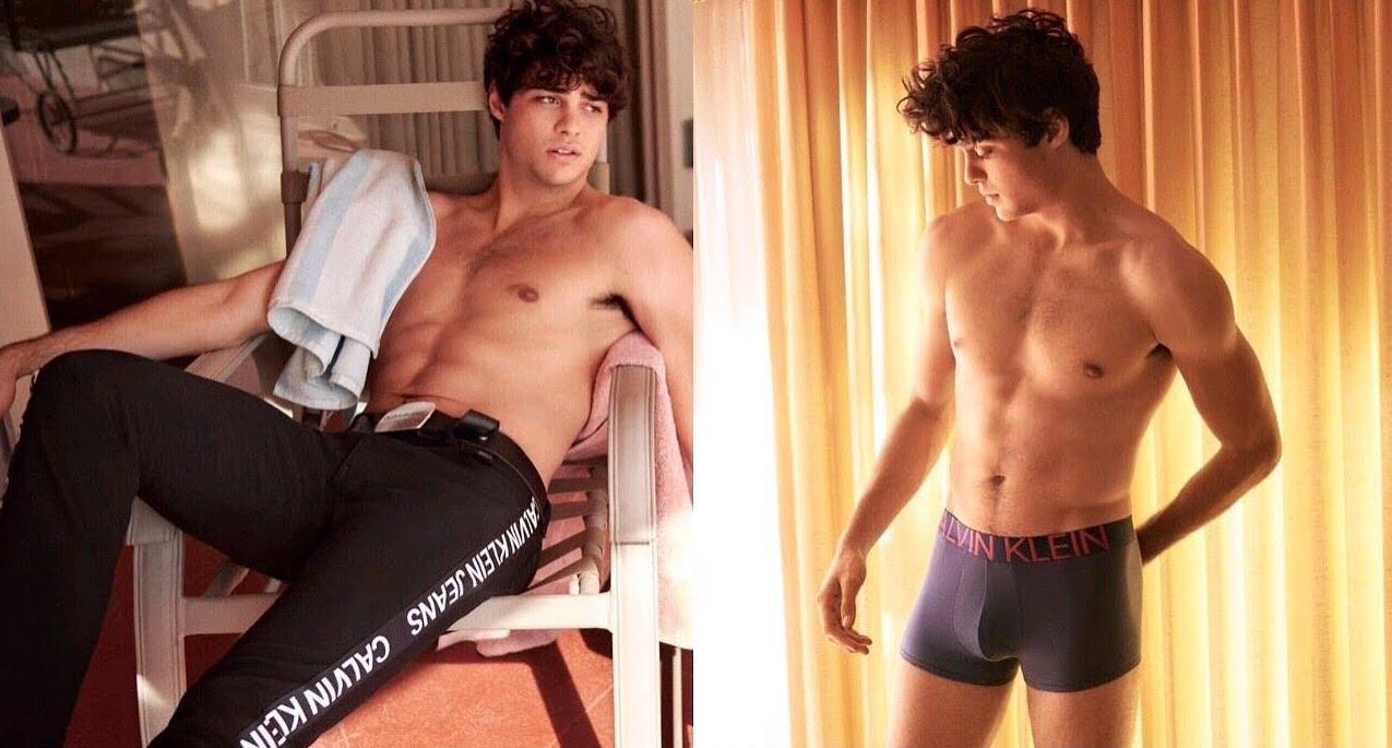 celebrity calvin klein underwear ads noah centineo