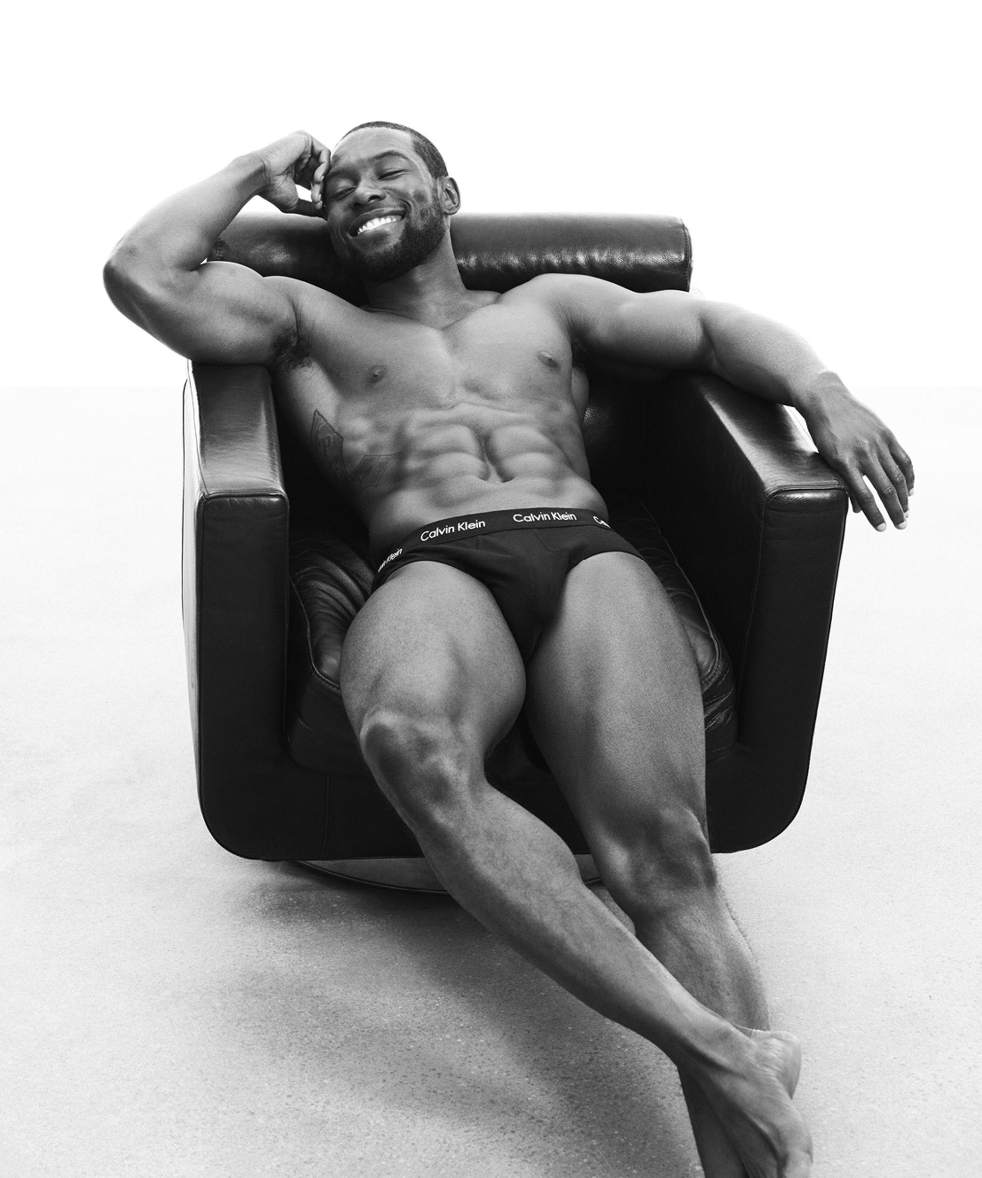 celebrity calvin klein underwear ads trevante rhodes