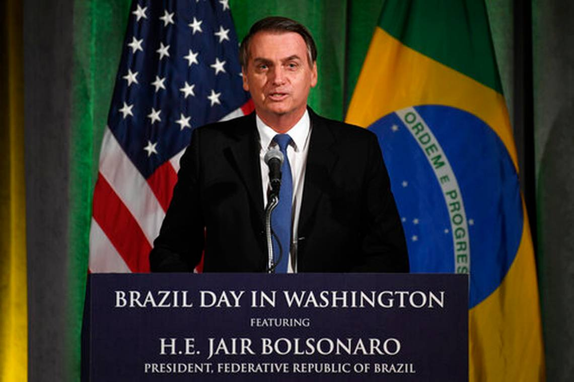 bolsonaro white house 2