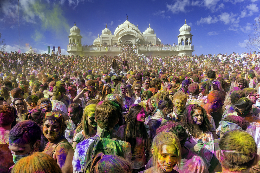 holi festival of color utah